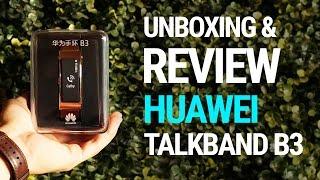 Huawei Talkband B3 - Unboxing y Review en Español