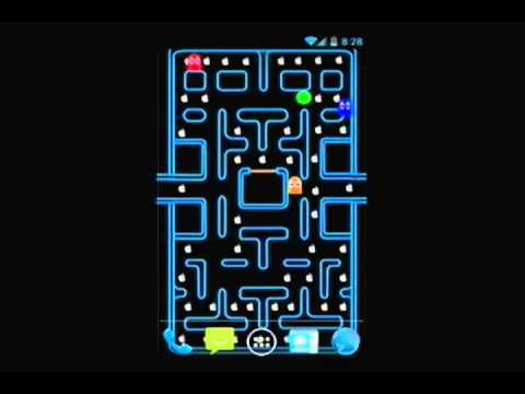 Pacman Live Wallpaper. - YouTube