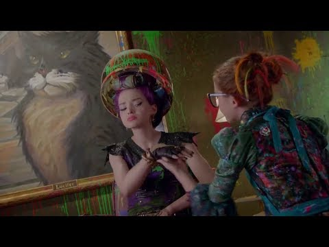 descendants-2-mal's-makeover-scene-hd