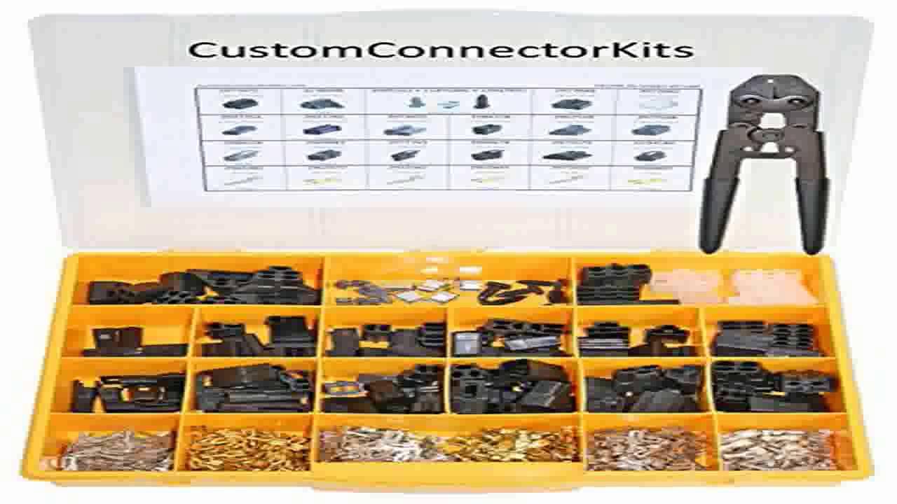 delphi 56 series connector kit 56 600 with 6285847 crimp tool automotive el youtube. Black Bedroom Furniture Sets. Home Design Ideas