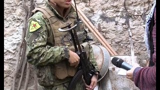 Foreign YPG volunteer explains why he came to fight Turks and jihadists in Afrin