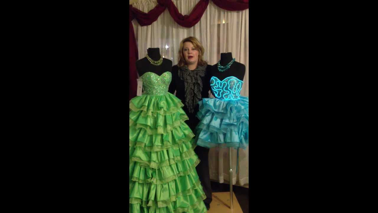 Light Up Prom Dress At Formals Of Litchfield Youtube