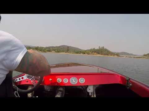 A little fun in the k boat at lake berryessa