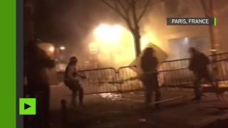 Violents heurts avec la police lors d'une manifestation de la communauté asiatique à Paris