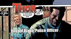 Donald Blake is BACK as a Police Officer