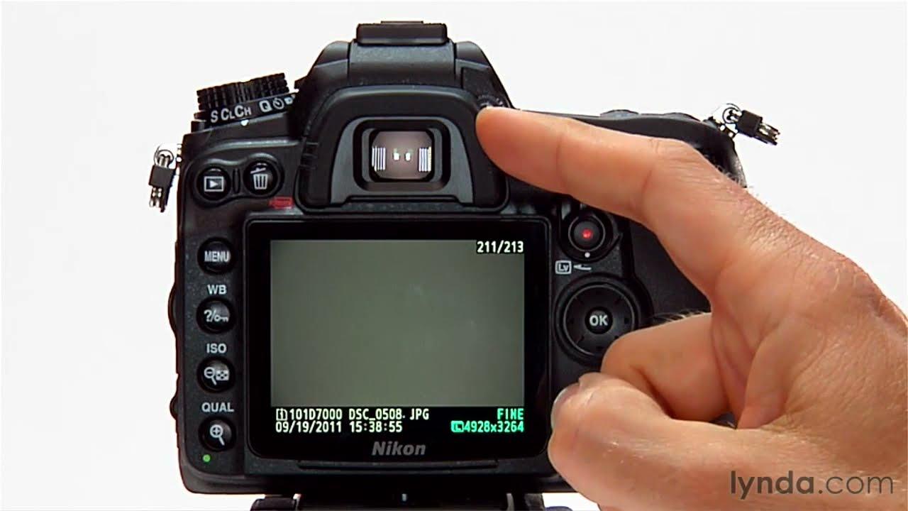 nikon d7000 tutorial shooting with the continuous mode lynda com rh youtube com Nikon D7000 Manual RU Nikon D70 Manual
