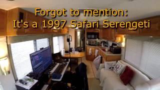 Fulltime RV: Tour of our 1997 Safari Serengeti Motorhome (part 1)