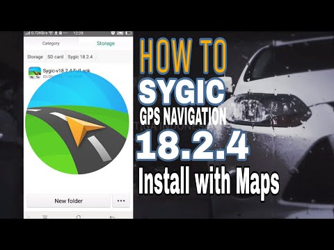 How To Quickly Install Sygic GPS Navigation 18.2.4 with Maps 2019