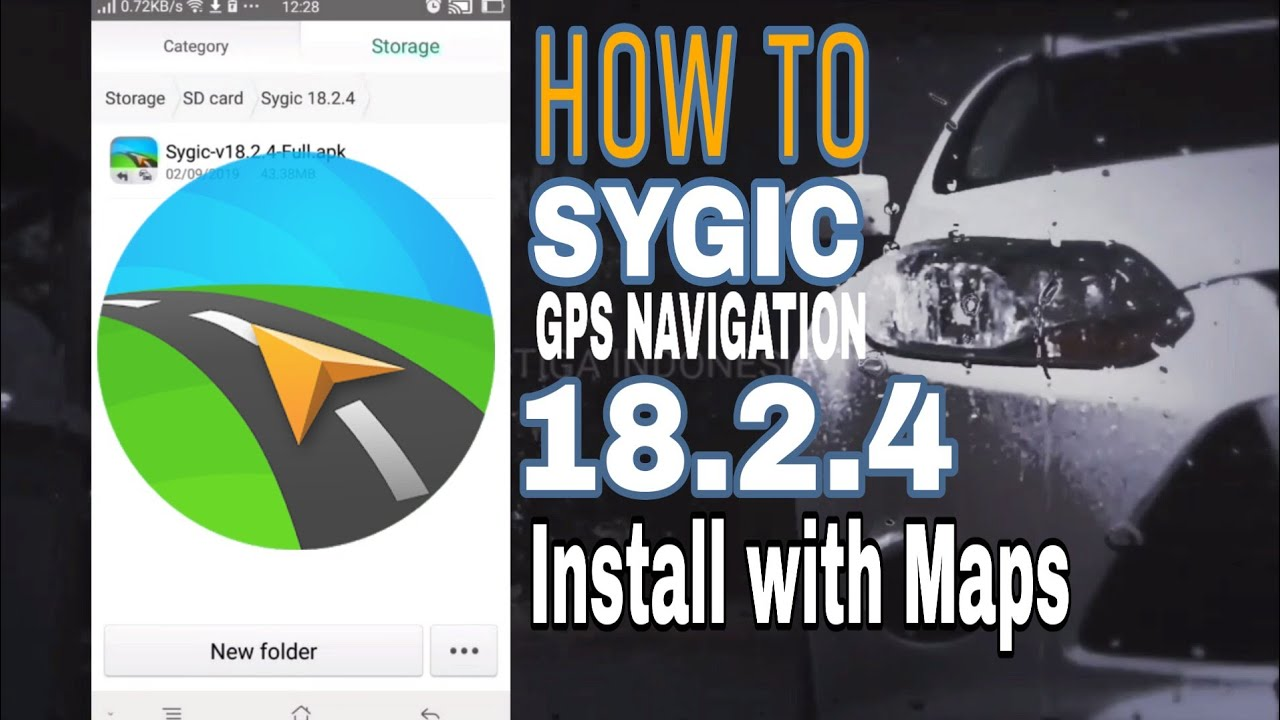 How To Quickly Install Sygic GPS Navigation 18 2 4 with Maps 2019