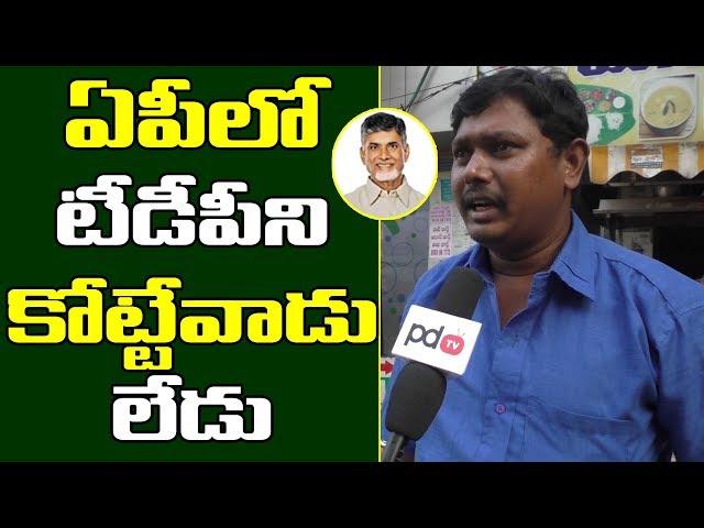 ఏపీలో టీడీపీని ఢీ కోట్టేవాడే లేడు | VIjayawada Public Talk on Chandrababu | PDTV News