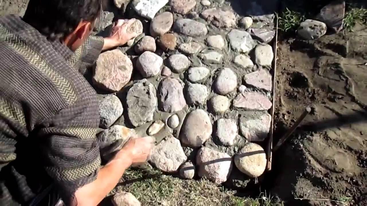 Дорожки своими руками из бутового камня