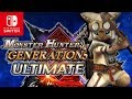 Monster Hunter Generations Ultimate Announced Before E3