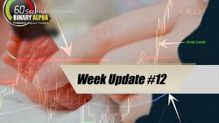 60 Second Binary Options Trading: $45 to $1000 to 1 Million :12th Week Update