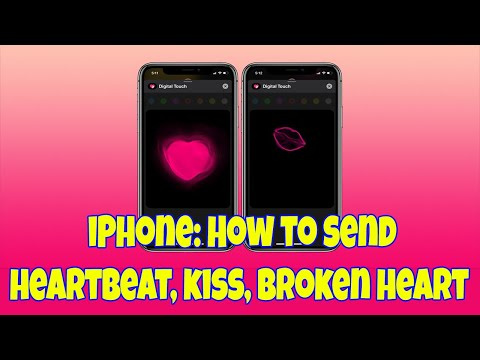 How To Send More Personal Messages On IPhone With Digital Touch Heartbeat, Kiss, More