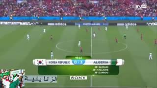 ALGERIA 4  KOREA 2 HAFID DARAJI HD