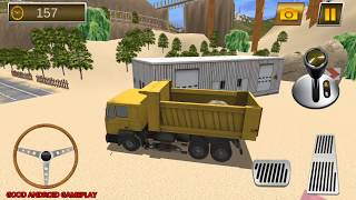 Construction Crane Hill Drive - Dump Truck Hard Mission Android GamePlay FHD