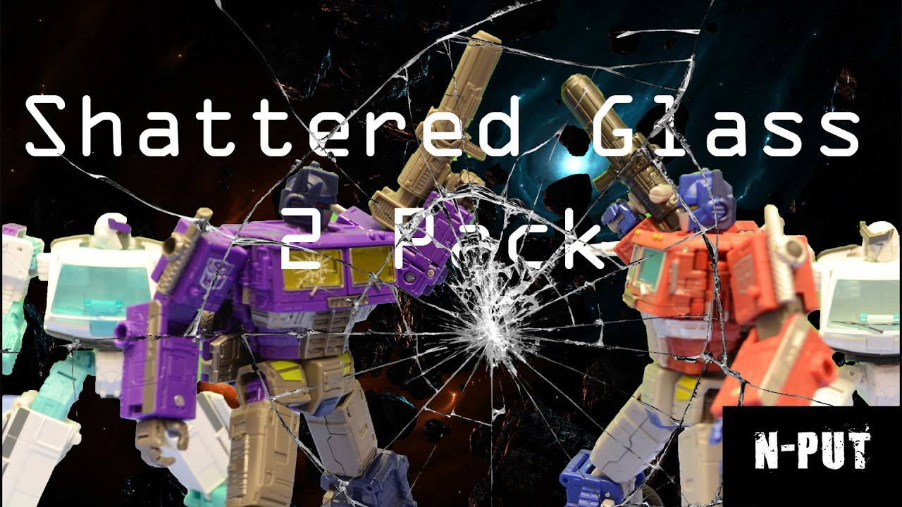 Shattered Glass Optimus Prime and Ratchet 2 Pack Review by N-PUT
