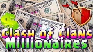 Clash of Clans Millionairs