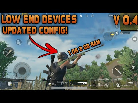 PUBG || Updated Config For Low End Devices || PUBG MOBILE Lag Fix Scope Lag Fix || For 1 or 2 GB RAM