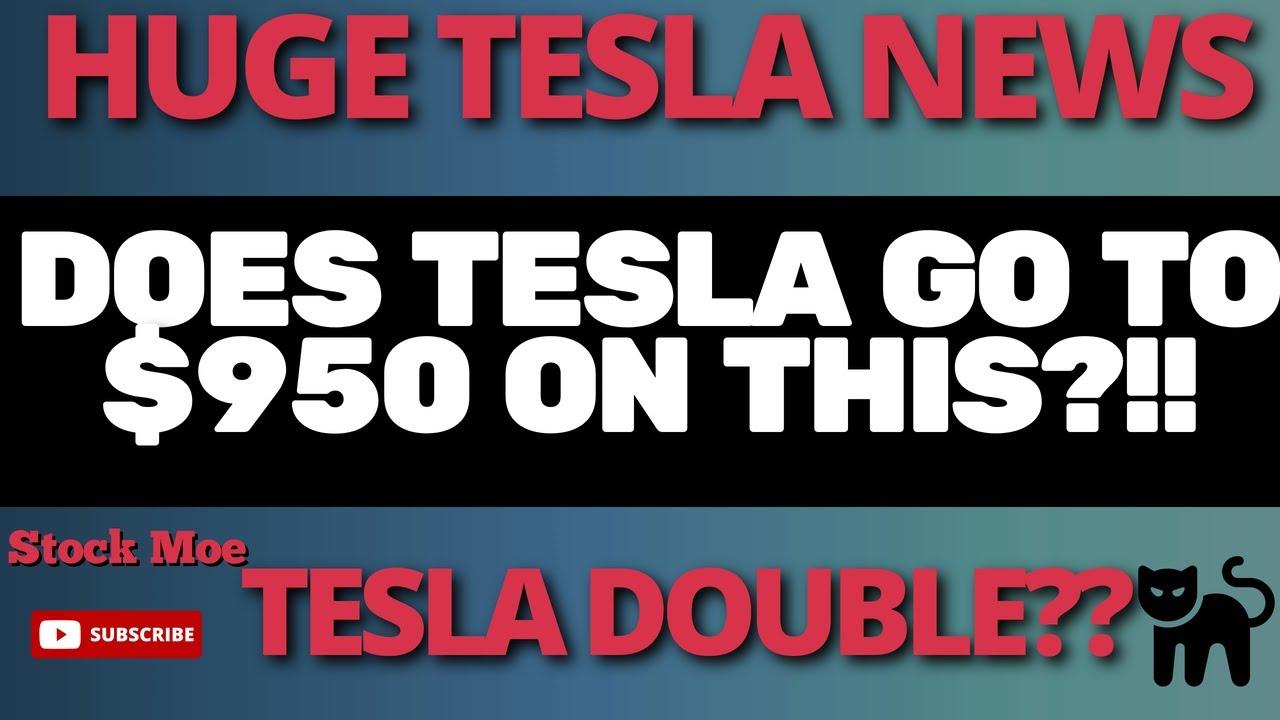 TESLA STOCK PRICE PREDICTION HUGE NEWS And MAJOR TESLA DELIVERY UPDATE - STOCK MOE TESLA MODEL 3
