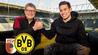 The long-lasting battery is back | Raphaël Guerreiro joins BVB Matchday Magazine | FC Augsburg - BVB