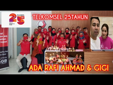 ulang-tahun-telkomsel-25-ada-rafi-ahmad-dan-nagita-slavina-#ultahtsel25-#telkomsel-#telkomselmadura
