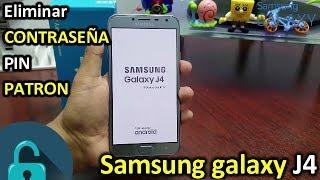 Samsung Galaxy J4 2018 ELIMINAR Contraseña,Patron o Pin