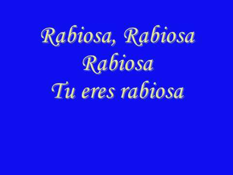 Rabiosa - Shakira - El Cata  - Letra