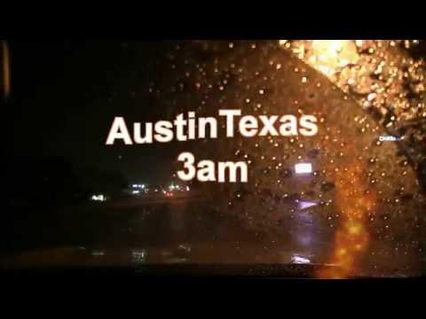 Driving in Rain 60mins Austin Texas