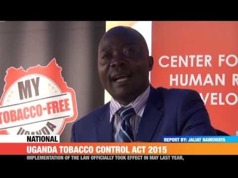 #PMLIVE: Uganda Tobacco Control Act 2015