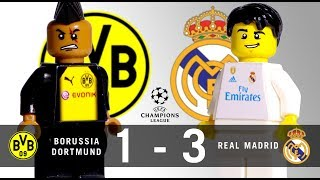 LEGO Borussia Dortmund 1 - 3 Real Madrid Champions League 2017 / 2018 Group H