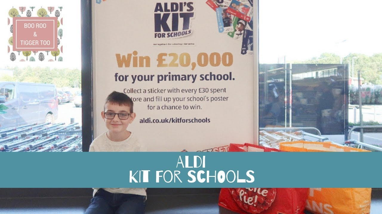 SHOP WITH ME | ALDI Kit For Schools Promotion #AldiKit4Schools [AD]