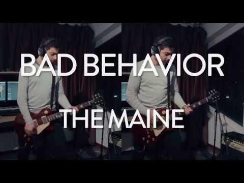 The Maine - Bad Behavior Studio Live Cover (Nick Tsutsunava) - YouTube