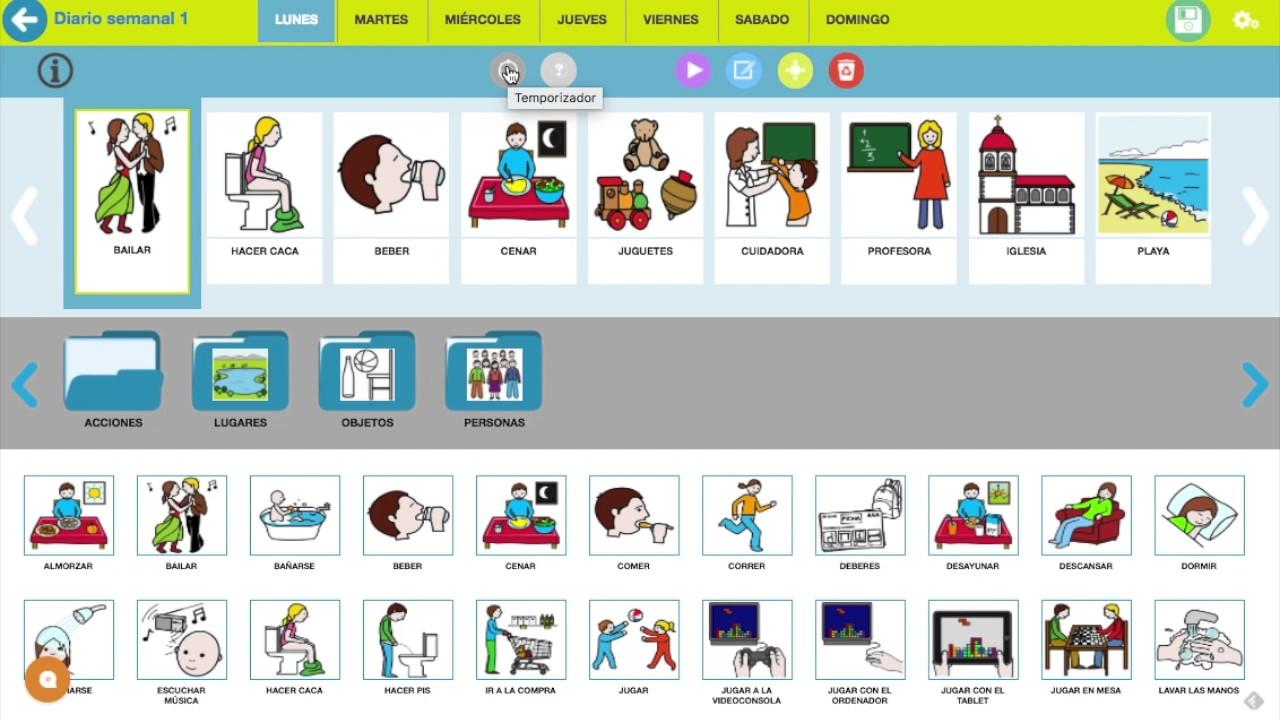 Píldora 3: Cómo crear una nueva agenda visual en GAIDO