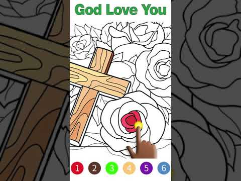 Best Bible Coloring Game