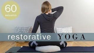 Restorative Yoga with Self Myofascial Release | Yoga with Melissa 471