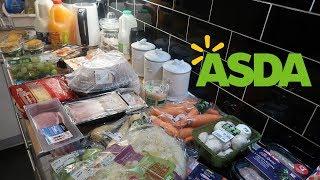 Asda Grocery Haul   Weekly Food Shop!