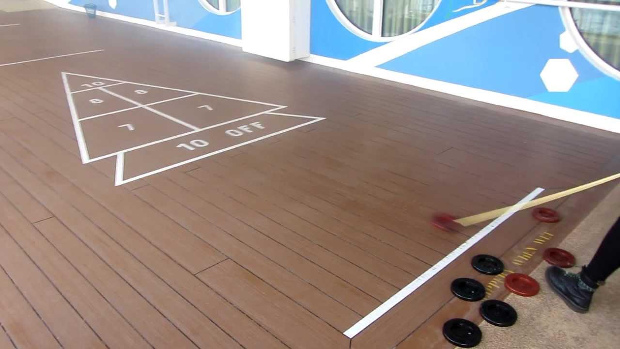 shuffleboard deck 7 norwegian jade norwegian cruise line youtube