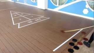 Shuffleboard, Deck 7, Norwegian Jade, Norwegian Cruise Line