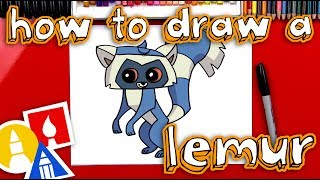 How To Draw Animal Jam Lemur