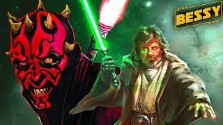 How Darth Maul Attacked Luke Skywalker - Explain Star Wars