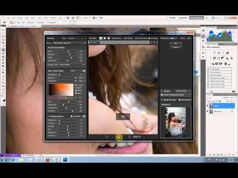 VIDEO TUTORIAL 2 - Blend màu ảnh, xóa bọng mắt, chỉnh màu môi.