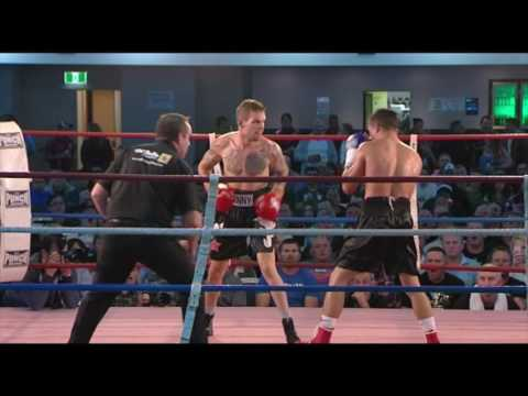 Will Young Vs Ben Warburton Australian Super Featherweight Title 13052016