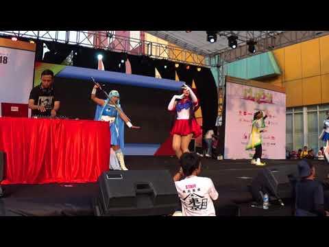 [Ennichisai Blok M, Jakarta] Cosplay Single feat Mbah Kacang (MK Music)