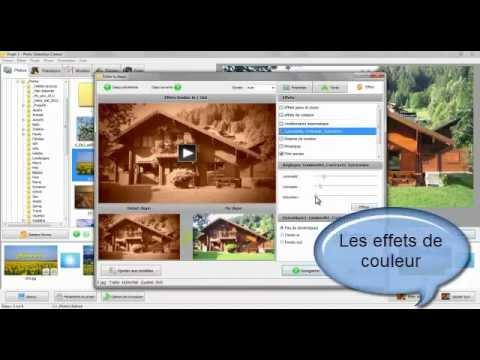Logiciel pour diaporama photo gratuit en francais