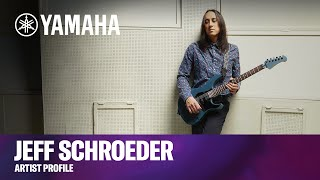Yamaha   Jeff Schroeder Artist Profile   Custom Pacifica Guitars