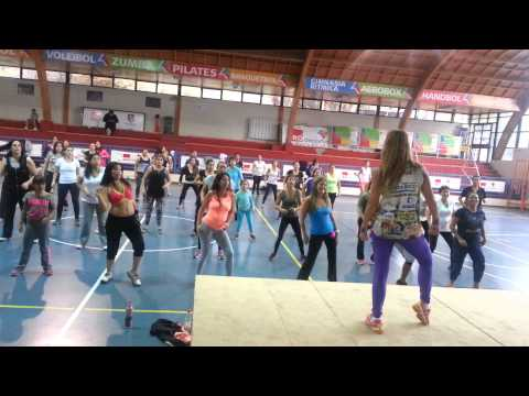 Pega Pega  (Raquel Call Fitness) Santiago Chile 2014