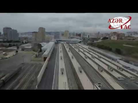 Бакинский железнодорожный вокзал после капитальной реконструкции сдан в эксплуатацию