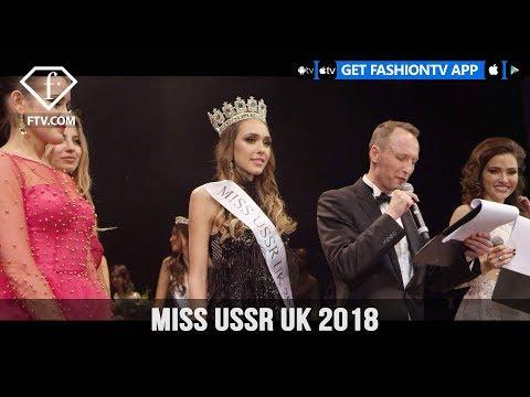 Miss USSR UK Presents Proud Embankment Grand Finale 29th April 2018 | FashionTV | FTV