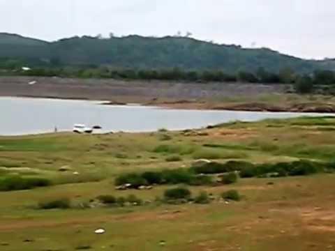 kangsabati  hil dam at mukutmanipur